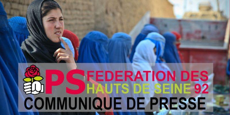 Pour un accueil sans condition des réfugiés afghans dans toutes les villes des Hauts-de-Seine