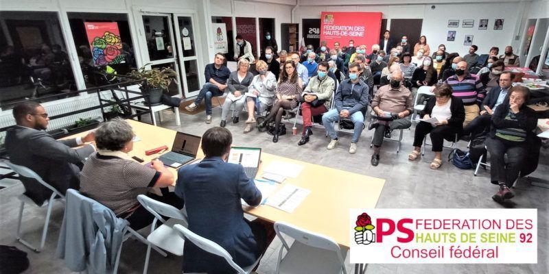 79ème Congrès – Les Socialistes des Hauts-de-Seine installent leurs instances