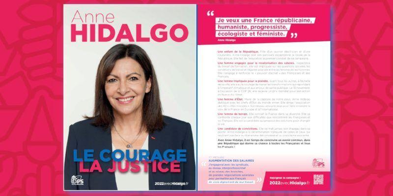 Lancement de la campagne présidentielle pour Anne Hidalgo